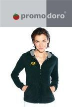 Promodoro Women's Hooded Fleece Jacket