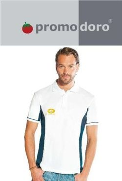 Promodoro Men's Function Contrast Polo